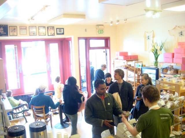 Arizmendi Bakery Interior
