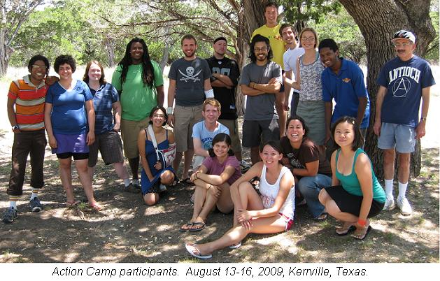 2009 Action Camp Group
