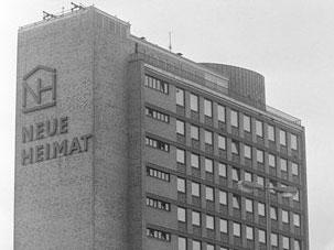 Photo of Neue Heimat headquarters, circa 1986.