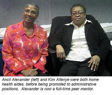 Ancil Alexander and Kim Allenye