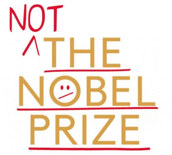 Not the Nobel Prize logo