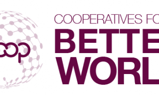Cooperatives for a Better World logo.