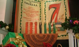 Kwanzaa candles. Photo by Soulchristmas, via flickr