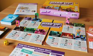 Rise Up board game by TESA.