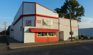 Photo of the exterior of the Wimbeldon Community Grocery.