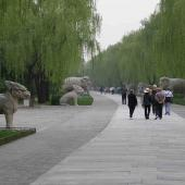 Ming Dynasty Tombs Spirit Way. Photo by Richard and Elaine Chambers. CC BY-SA 3.0